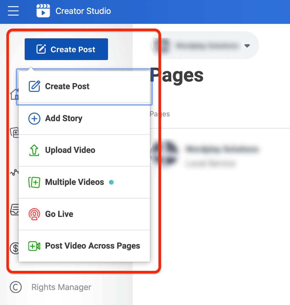 Kalendar u Creator studiju – Upravljanje Instagram profilom